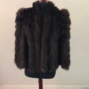 Authentic Vintage mink short coat